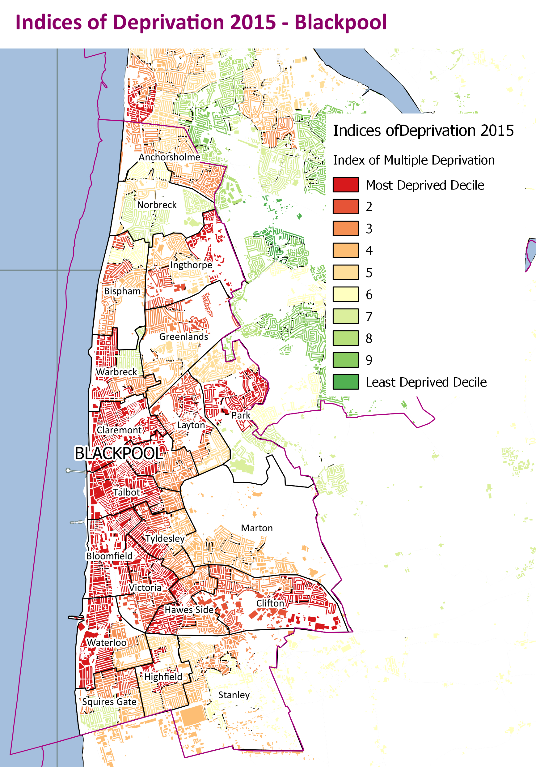 Indices of Deprivation 2015